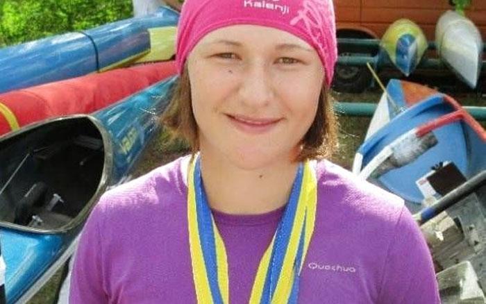 Тетяна Єднак – чемпіонка України з веслування