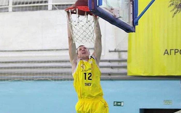Микита Найко - найкращий форвард Вищої ліги з баскетболу