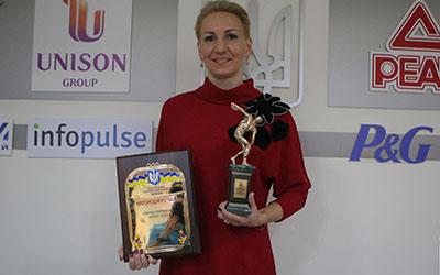 Олена Підгрушна всьоме отримала нагороду найкращої спортсменки місяця в Україні