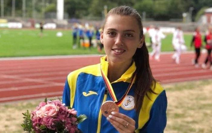 """Тернополянка виборола """"бронзу"""" на чемпіонаті Європи з легкої атлетики"""