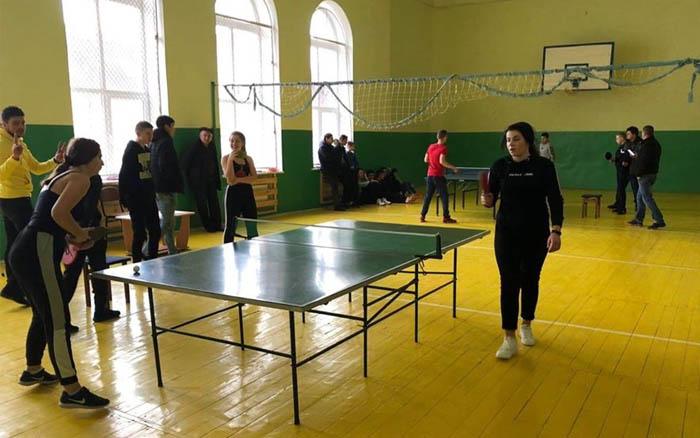 Відбулась першість Теребовлянської міської ОТГ з настільного тенісу та шахів серед школярів