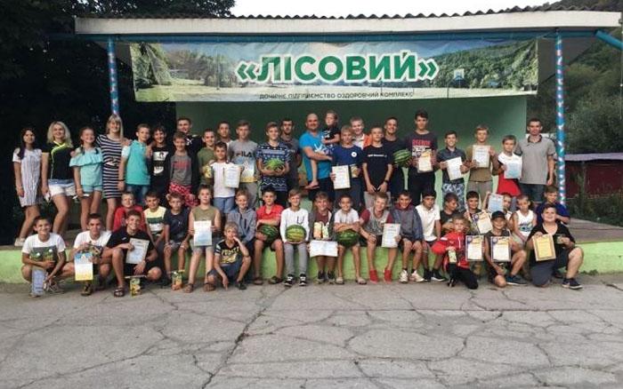 Тернопільські борці провели навчально-тренувальні збори