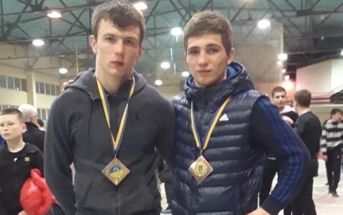 Тернопільські борці здобули дві медалі юніорського чемпіонату України
