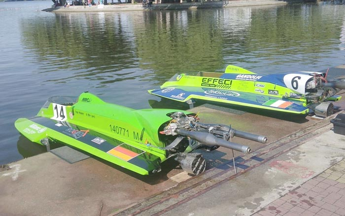 У Тернополі розпочався чемпіонат світу з водно-моторного спорту