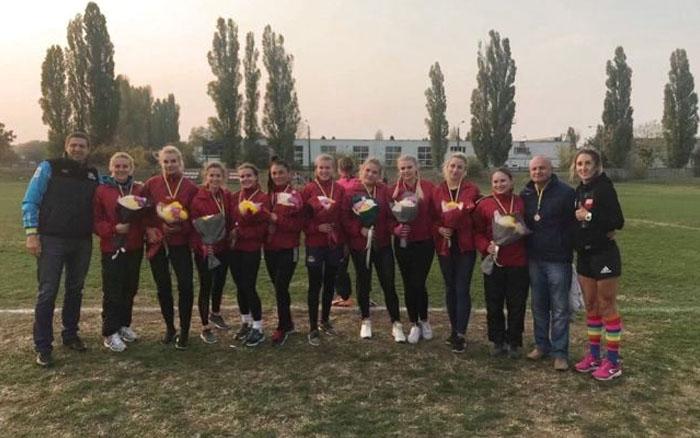 Регбістки з ТНЕУ стали призерками чемпіонату України
