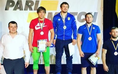 Андрій Антонюк – срібний призер чемпіонату України з греко-римської боротьби