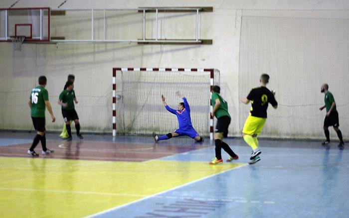 Результати 9-ого туру Вищої футзальної ліги Тернопільщини