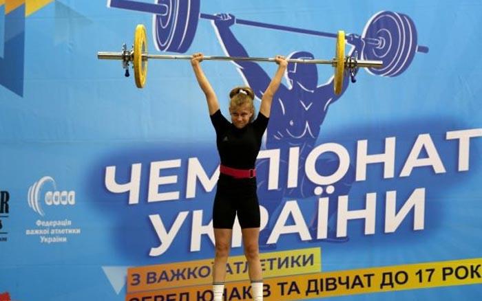 Юна важкоатлетка з Тернопільщини успішно виступила на чемпіонаті Європи