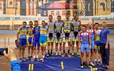 Тернополяни на подіумі чемпіонату України з велоспорту