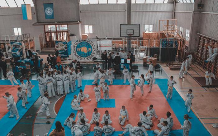 Команда тернополян стала срібним призером Відкритого Кубку Тернопільської області з Таеквон-до І.Т.Ф.