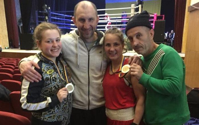Олеся Крисюк та Каріне Айрапетян – чемпіонки України з боксу
