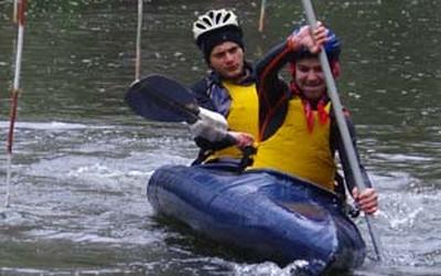 Відбулись обласні змагання з водного туризму