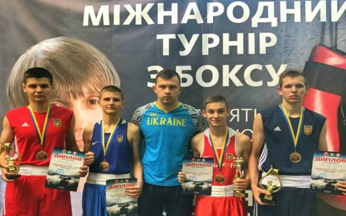 Тернопільські боксери тріумфували на Міжнародному турнірі