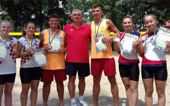 Тернополяни стали призерами чемпіонату України з пляжного волейболу