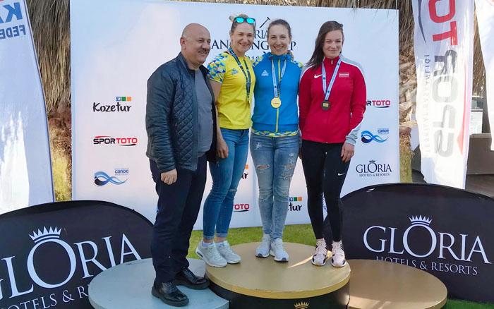 """Тетяна Єднак стала срібною призеркою змагань """"Gloria Cup"""" у Туреччині"""