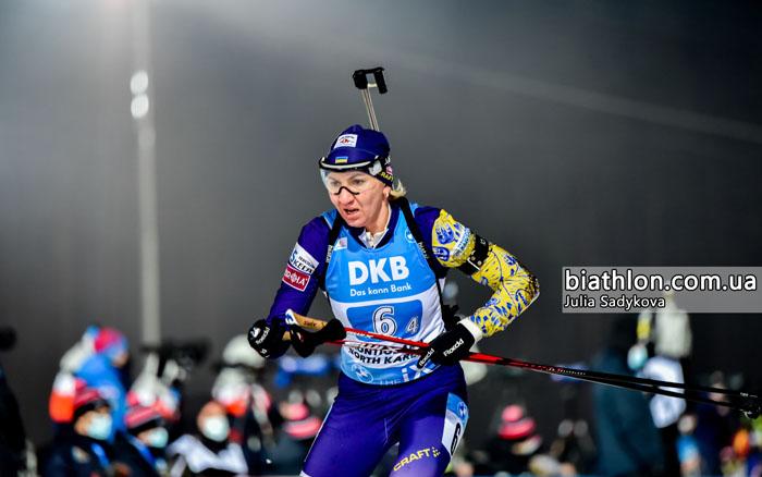 Олена Підгрушна - за межами ТОП-30 спринту Кубка світу в Естерсунді