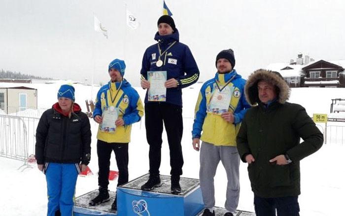 Тернополянин двічі став чемпіоном України з лижних перегонів