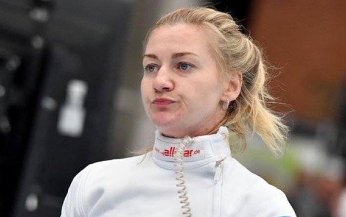 Тернопільська спортсменка Оленка Кривицька залишає Олімпіаду