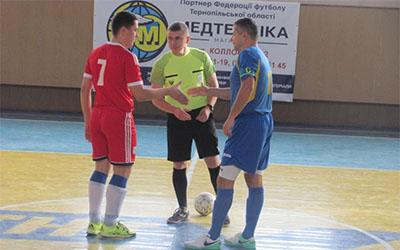 Результати 5-ого туру Другій футзальної ліги Тернопільщини