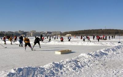 У Тернополі знову гратимуть хокей на ставі (ВІДЕО)