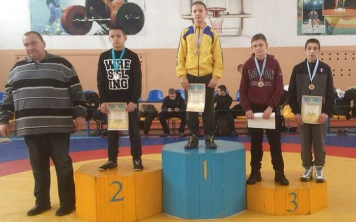 Тернопільскі борці стали призерами чемпіонату України