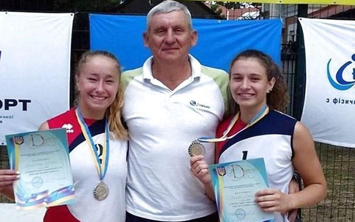 Тернополянки здобули нагороди чемпіонату України з пляжного волейболу
