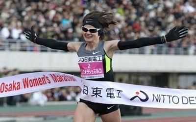 Уродженка Тернопільщини виграла марафон у Японії