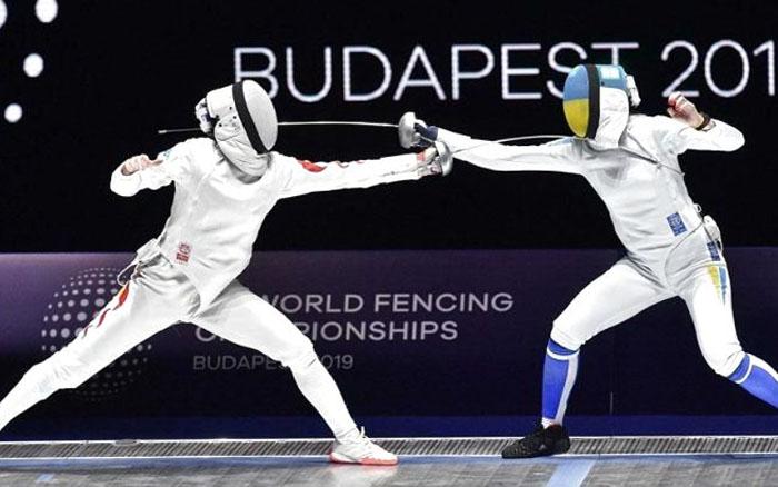 Шпажистка Олена Кривицька посіла четверте місце у командних змаганнях чемпіонату світу