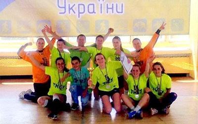 Гандболістки з ТНЕУ отримали бронзу на змаганнях у Львові
