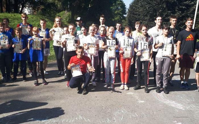 У Тернополі відбулися змагання з легкоатлетичного кросу