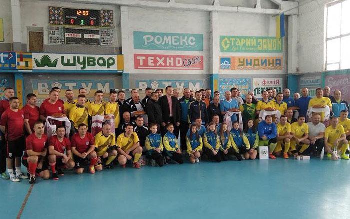 Футзальна команда Чортківської мерії перемогла на турнірі на Івано-Франківщині