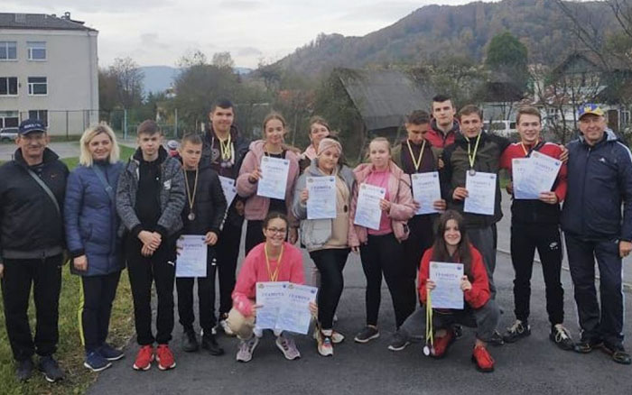 Спортсмени з Тернопільщини отримали призові місця на змаганнях з легкої атлетики