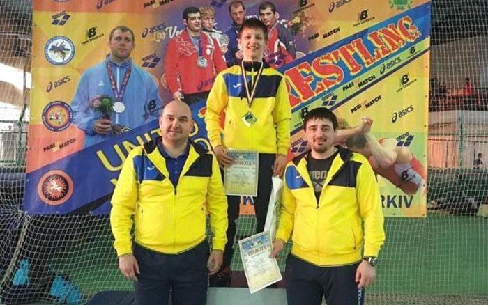 Тернопільський борець виконав норматив Майстра спорту України