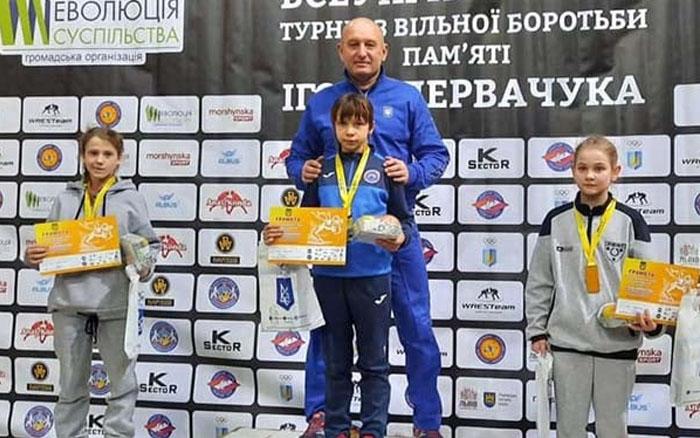 Борці з Тернопілля вдало виступили на Міжнародному турнірі з вільної боротьби у Львові
