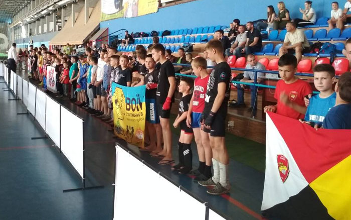 У тернопільських кікбоксерів сім медалей на Відкритому чемпіонаті Волинської області