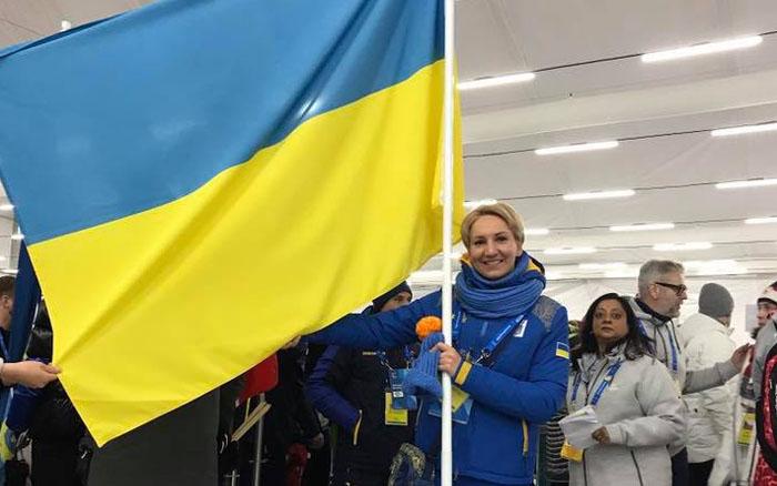 """Олена Підгрушна: """"Бути прапороносцем України - важлива подія, це було мрією з дитинства"""""""