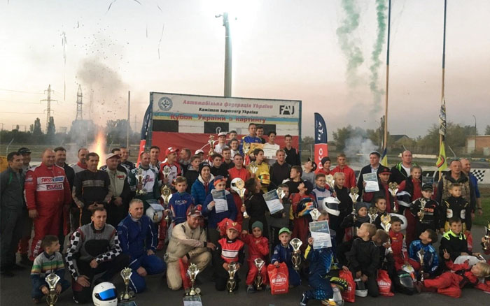 Із перемогою повернулись тернопільські картингісти з Кубка України