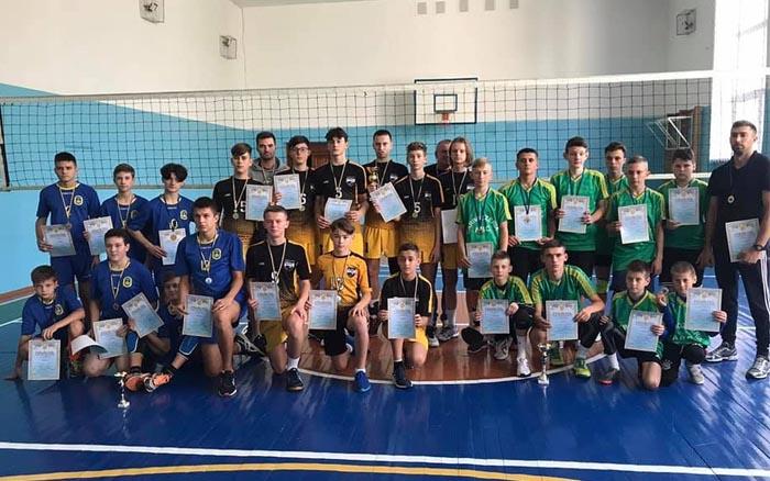 Команда спортивної школи №1 – чемпіон Тернопільської області з волейболу серед юнаків 2007 р.н.
