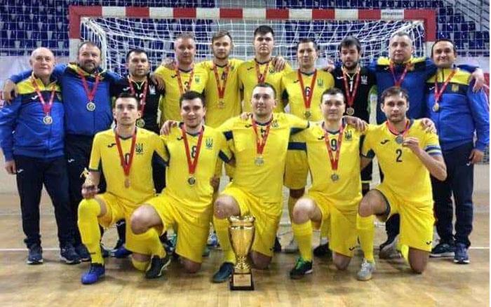 Богдан Бадло – чемпіон Європи з футзалу серед спортсменів з вадами зору