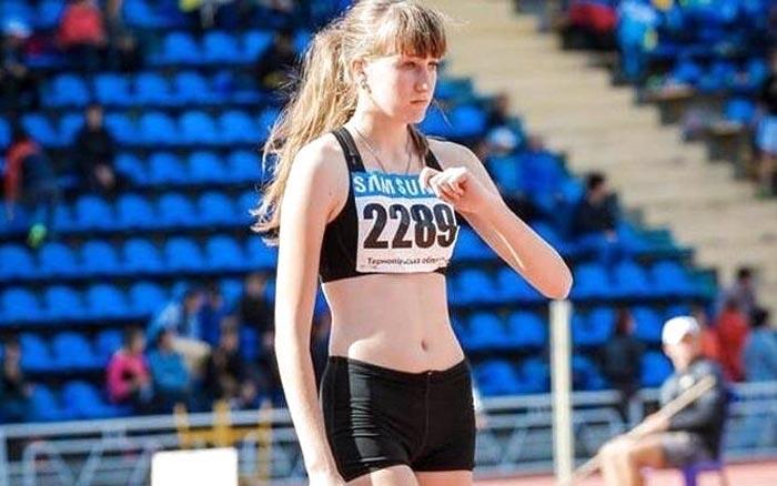 Тернополянка здобула медаль на Всеукраїнському турнірі зі стрибків у висоту