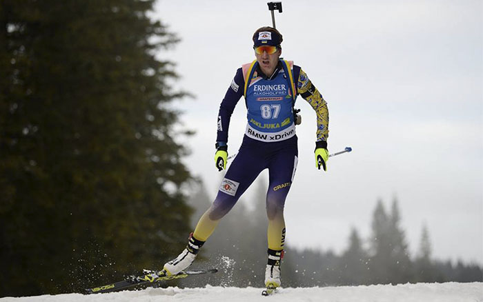 Олена Підгрушна фінішувала на 30-му місці гонки переслідування в Естерсунді