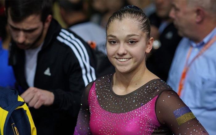 """Анастасія Бачинська виграла """"срібло"""" в перший день етапу Кубка світу зі спортивної гімнастики в Досі"""