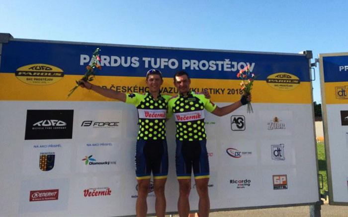 Тернопільський велосипедист Віталій Гринів здобув перше місце на престижних змаганнях в Чехії