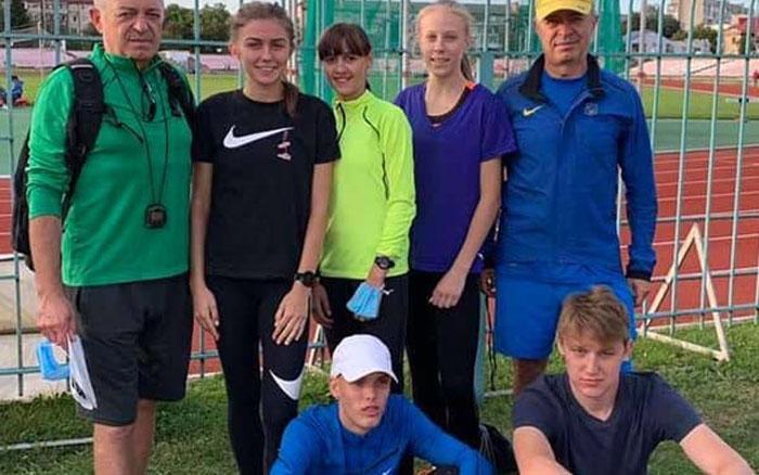 Тернопільські легкоатлети привезли з Луцька п'ять медалей