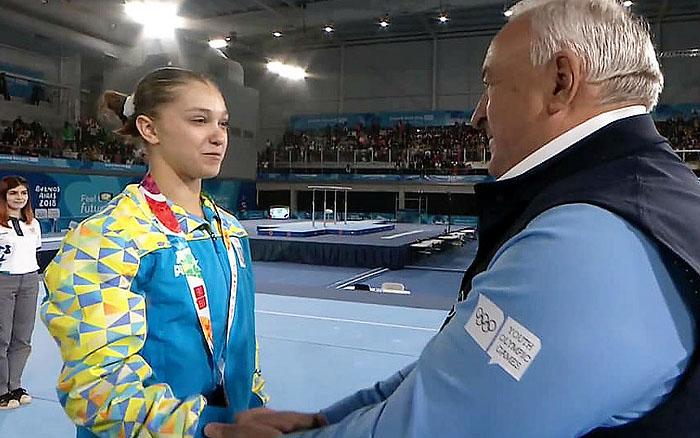 Анастасія Бачинська повертається з ІІІ літніх Юнацьких Олімпійських ігор з двома бронзовими медалями