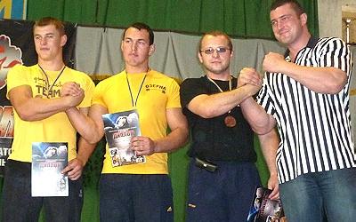 Вихованець Андрія Пушкаря став призером чемпіонату України з армспорту