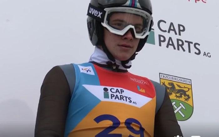 Віталій Гребенюк найкращий серед українців у лижному двоборстві на юніорському чемпіонаті світу