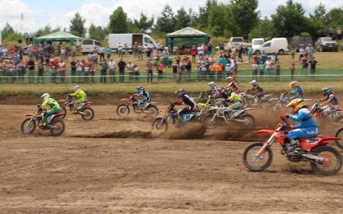 У Бучачі відбувся третій етап чемпіонату України з мотокросу