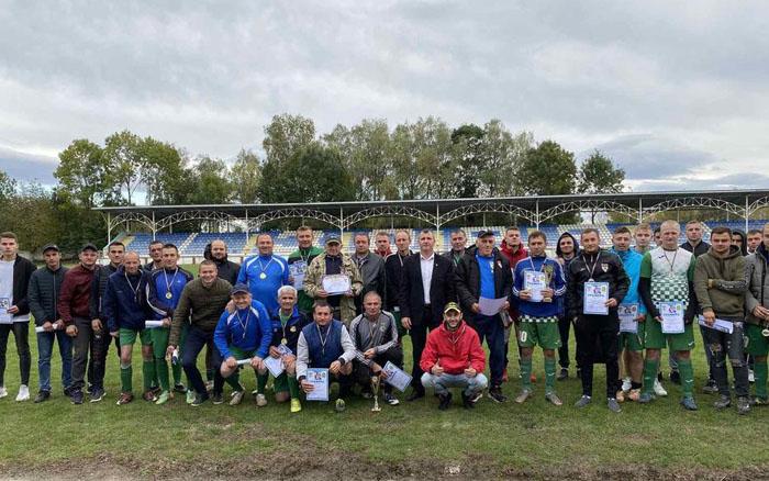 У Хоросткові провели футбольний турнір пам'яті Віктора Польового