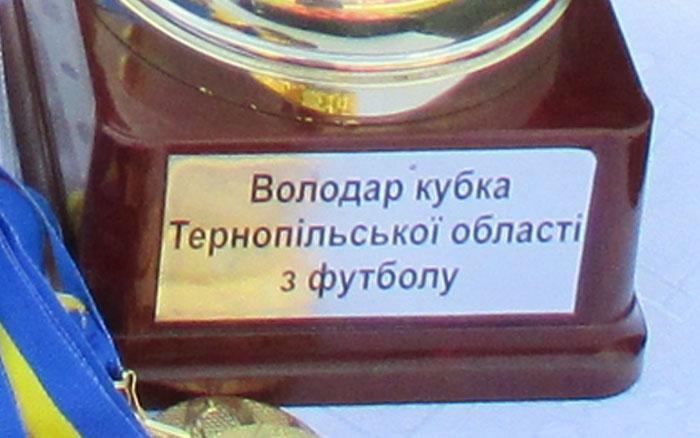 Чвертьфінальні пари кубка Тернопільської області 2019 року